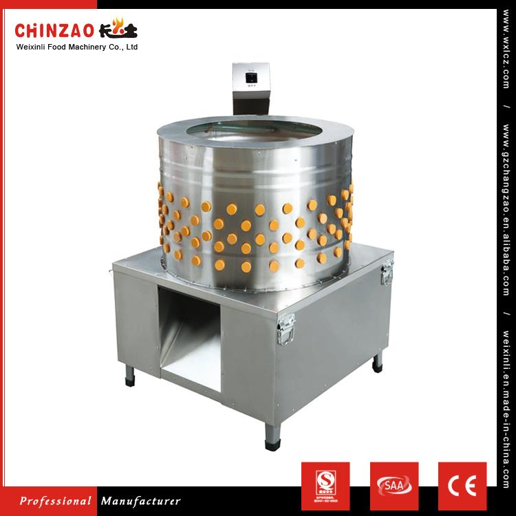 Model CHZ-80 The Popular Sales CHINZAO Brand Electric Chicken Plucker Finger For Sale