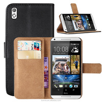 Wallet Pu Leather Stand Case Cover For HTC Desire 816