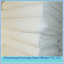 indian polyester cotton plain white fabric price