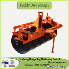 Tractor disc plough furrow plough for cultivating