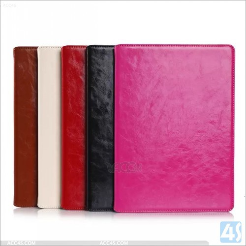 High Quality Genuine Leather Smart Cover for iPad Air 2 P-APPAIR2PUCA031