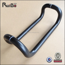 Customized dark anodized double sided aluminum door handle RB-3007B