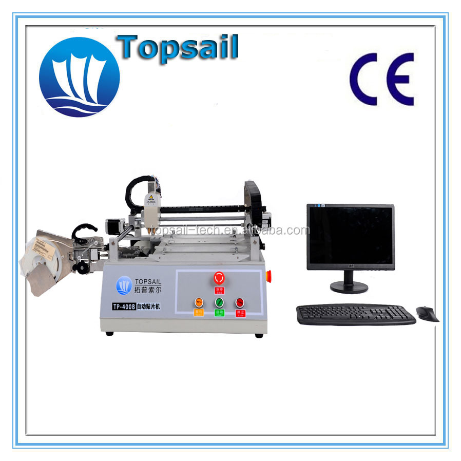 Topsail Desktop SMT pick and place machine for LED 2016