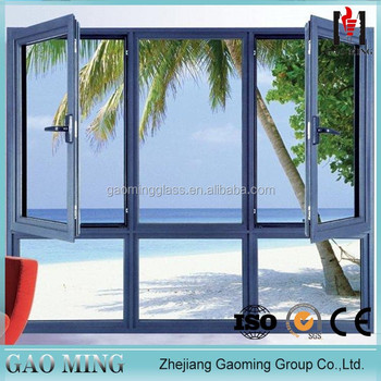 Alibaba trade assurance china sliding glass window price GM-C996