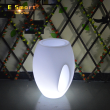 Control Fashion Night Glowing LED Multi Color Changing Flower Pots
