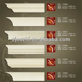 2014 Latest European style PU corner cornice moulding for home & interior decpration