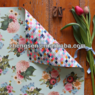 Fashion design different types gift wrapping