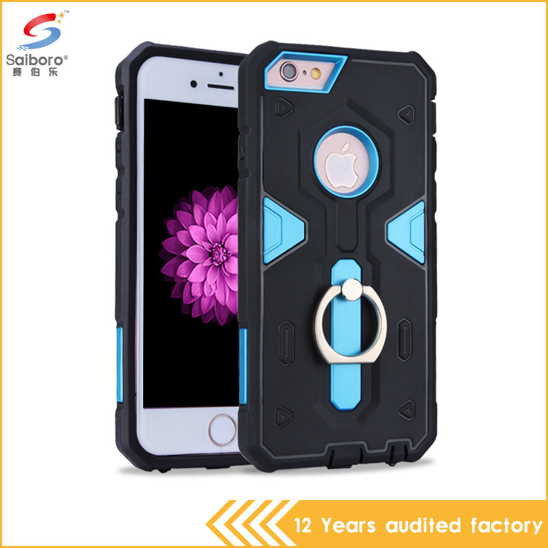 2016 newest design low price USA hot selling ring stand case for iphone 6