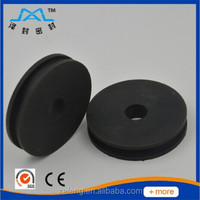 U V Belt Groove Small Plastic conveyors pulley wheels with bearings,plastic pulley wheel