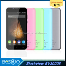 "Original Blackview BV2000S Mobile Phone 5.0"" HD MTK6580 Quad Core 1GB RAM 8GB ROM Android 5.1 Dual SIM 3G WCDMA cell phone"