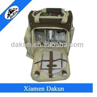 Hot sale 4 persons backpack style picnic bag attend HongKong Fair