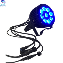 9leds 15w Rgbwa+uv 6in1 Outdoor Led Par Light Use For Disco and Bar Night Club