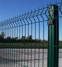 Anping factory green pvc fence/guarden fence/green screen fence (easy assemble)