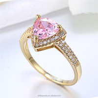 Colorful cz rings jewelry,gold rings and wedding bands