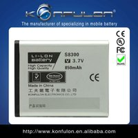 S8300 for samsung Lithium mobile phone battery