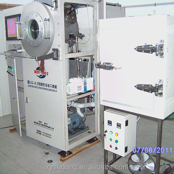 Pilot vacuum laboratory Freeze dryer-LG0.2 for pilot freeze drying Laboratory