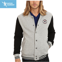 newly custom design applique logo fleece baseball wear sports varsity jackets