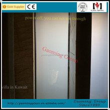 Smart tint film for office partition/projection/car window