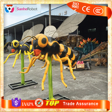 Theme Park Giant Animatronic Artificial Insect Model For Sale