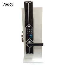 english fingerprint keypad entrance door lock