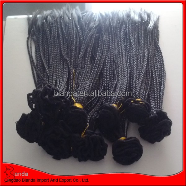 new style braid hair extension micro braid weft for black women