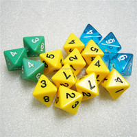 Custom 8 Sided Colored Dice from China Manufacturer