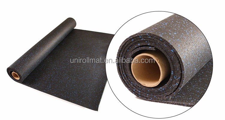 Rubber Flooring Roll Mat for Gym