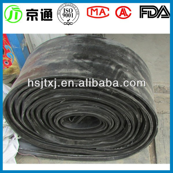 Jingtong rubber China black central bulb rubber waterstop