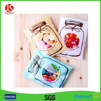 Individual clear plastic Cello bags for cookie packaging bags