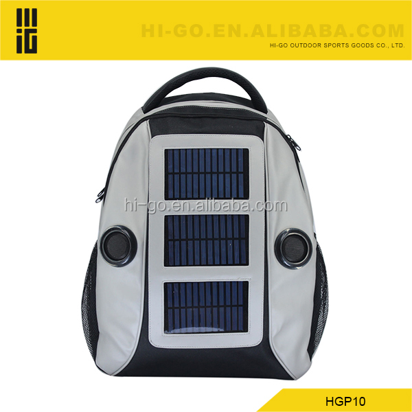 2016 new products popular novelty fashion solar laptop bag
