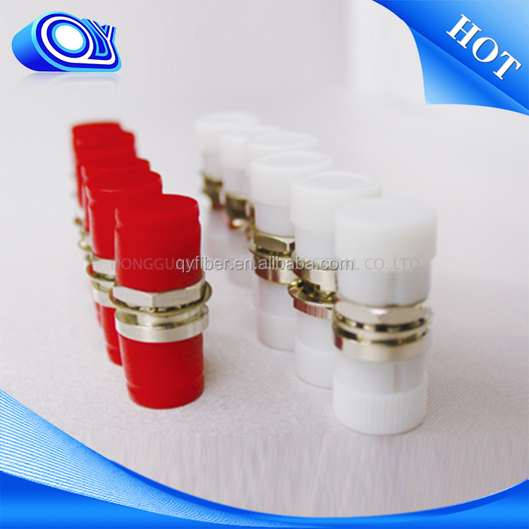 2 cores optical fiber adapter &connector & fiber optic equipments