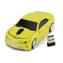 For Computer Chevrolet Camaro Bumblebee Transformers Car Wireless Mouse