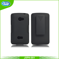 Hot plastic design your own cell phone holster case for LG L45 for L130