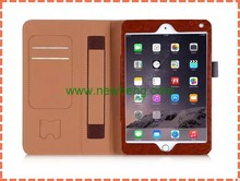 New Products Contrast Color Wallet Tablet Leather Cover Case For Ipad Mini 4