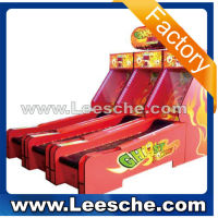 LSJQ-284 3 Ghost Bowling indoor amusement game machine mini bowling game machine lottery machine for sale rb13