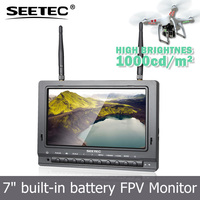 Popular Buying FTF 7 inch fpv monitor AV-RF-hdmi input super brightness drone with hd camera with gps
