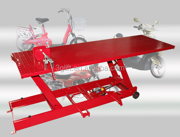 factory suppliers hydraulic used motorcycle lift in lift tables offer