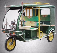Four passenger 3 wheel electric tricycles