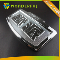 3D Logo Type And Truck Grille Emblem Type Matte & Mirror Finished OEM Abs Replacement Car Emblem