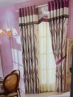 New Product velvet curtains, hemp curtains, Jacquard curtain