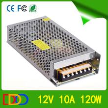 High Quality Two Years Warranty Time cctv power supply 12v 10a with very competitive factory price