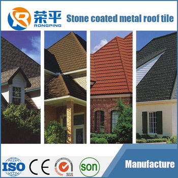 Beautiful stone coated roofing metal tile, steel roofing tile, building material for Nigeria,Kenya