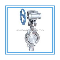 Wafer Stainless Steel Hard seat Butterfly Valve