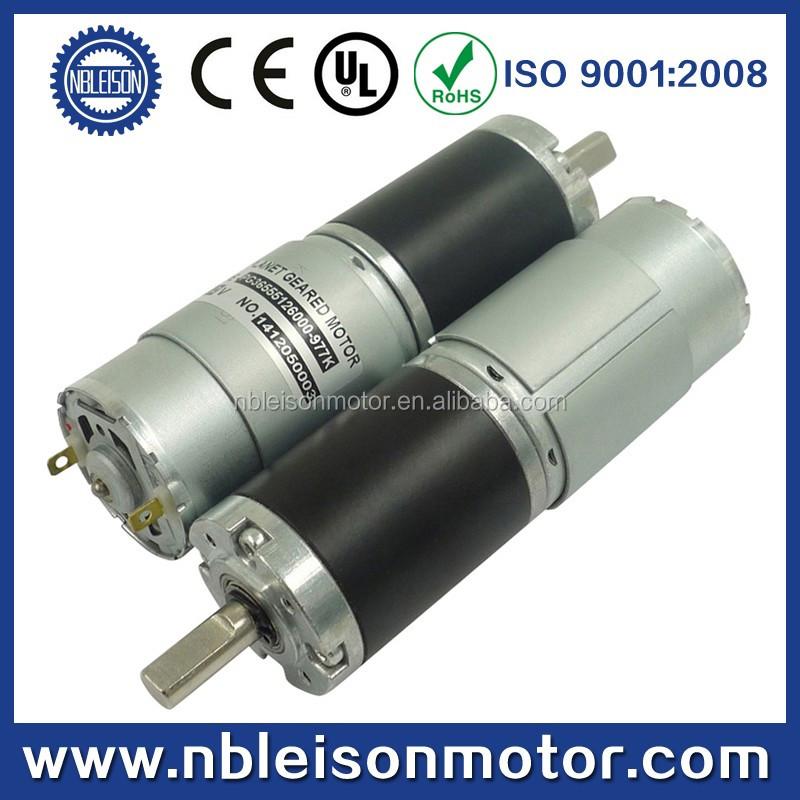 56mm Low Rpm 12v 24v Dc Planetary Motor High Torque 12