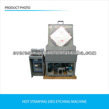 magnesium/zinc plate/brass etch machine