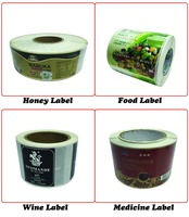 Adhesive Waterproof Label For Glass Bottles, Print Pill Bottles And Label, Adhesive Jewelry Label (LX 1314)