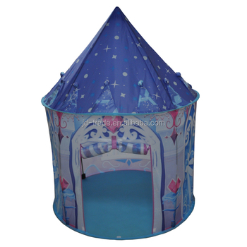 Hot Sale KIds Pop Up Tent House Top Quality Ice Princess Children Teepee Tent