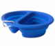 New Amazon silicone foldable Food & water double hole dog feeder bowl