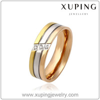 13778 Xuping Gold Selling Jewelry Gold Finger Ring Rings Design For Women With Price