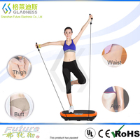 Gladness Good Price Crazy Fit Massager Fat Burn Spraying Plastics Best Body Building Equipment / Body Slim Fitness Machine Vibra